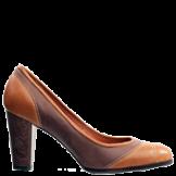 brauner Schuh